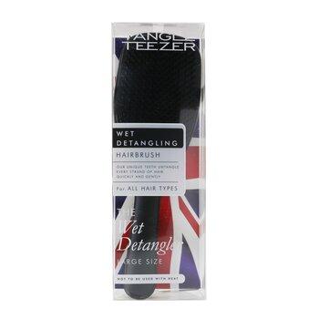 The Wet Detangling Hair Brush - # Black Gloss (Large Size) (1pc)
