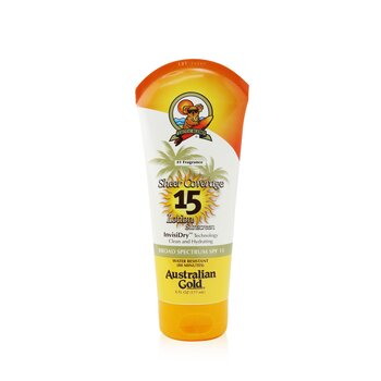 Sheer Coverage Lotion Sunscreen Broad Spectrum SPF 15 (Exp. Date: 01/2021) (177ml/6oz)