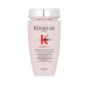 Genesis Bain Nutri-Fortifiant Anti Hair-Fall Fortifying Shampoo (Dry Weakened Hair, Prone To Falling Due To Breakage) (250ml/8.5oz)