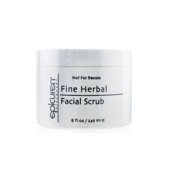 Fine Herbal Facial Scrub - For Dry, Normal & Combination Skin Types (Salon Size) (236ml/8oz)