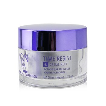 Age Correction Time Resist Creme Nuit With Plant-Based Stem Cells - Youth Activator - Anti-Fatigue, Smoothing (50ml/1.75oz)