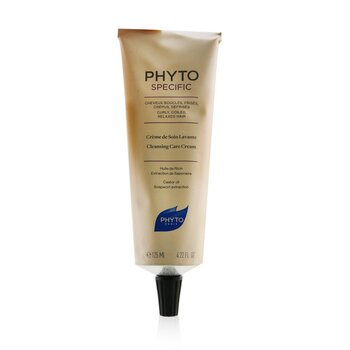 Phyto Specific Cleansing Care Cream (Curly, Coiled, Relaxed Hair) (125ml/4.22oz)