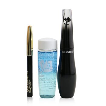 Grandiose Wide Angle Fan Effect Mascara Set (1x Mascara 10ml, 1x Mini Le Crayon Khol 0.7g, 1x Bi Facil 30ml) (3pcs)
