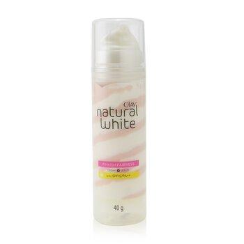 Natural White Pinkish Fairness Cream + Serum SPF 15/PA++ (40g/1.41oz)