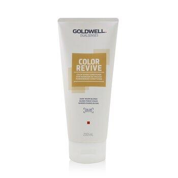 Dual Senses Color Revive Color Giving Conditioner - # Dark Warm Blonde (Box Slightly Damaged) (200ml/6.7oz)