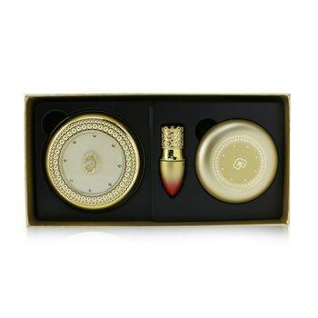 Gongjinhyang Mi Luxury Golden Cushion Glow SPF50 Special Set - No. 19 (4pcs)