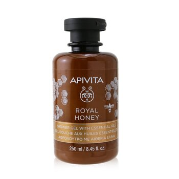 Royal Honey Shower Gel with Essential Oils (250ml/8.45oz)