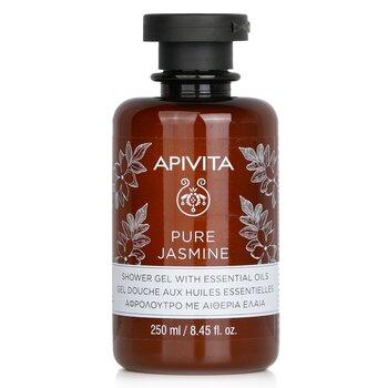Pure Jasmine Shower Gel with Essential Oils (250ml/8.45oz)