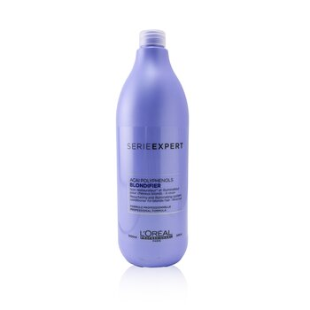 Professionnel Serie Expert - Blondifier Acai Polyphenols Resurfacing and Illuminating System Conditioner (For Blonde Hair) (1000ml/34oz)