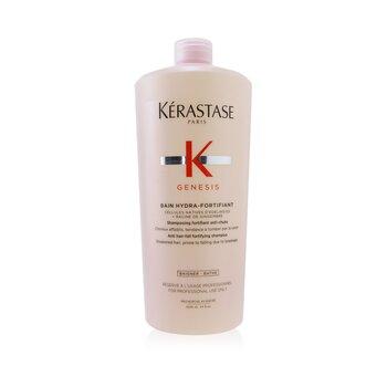 Genesis Bain Hydra-Fortifiant Anti Hair-Fall Fortifying Shampoo (Weakened Hair, Prone To Falling Due To Breakage) (1000ml/34oz)