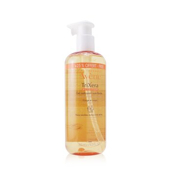 TriXera Nutrition Nutri-Fluid Face & Body Cleansing Gel - For Dry to Very Dry Sensitive Skin (Limited Edition) (500ml/16.9oz)
