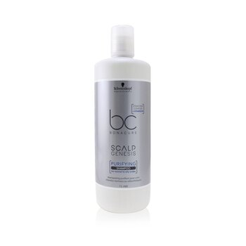 BC Bonacure Scalp Genesis Purifying Shampoo (For Normal to Oily Scalps) (1000ml/33.8oz)
