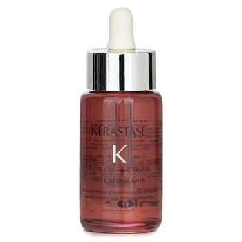 Fusio-Scrub Huile Stimulante Essential Oil Blend with An Invigorating Aroma (50ml/1.7oz)