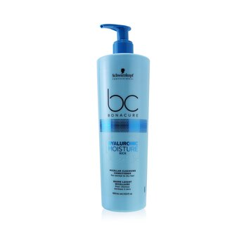 BC Bonacure Hyaluronic Moisture Kick Micellar Cleansing Conditioner (For Normal to Dry Hair) (500ml/16.9oz)