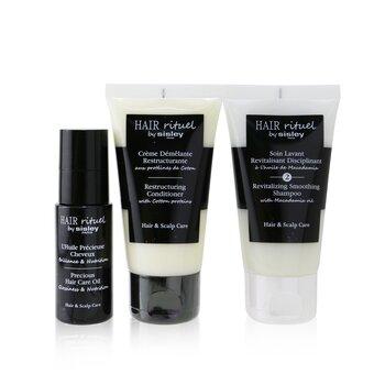Hair Rituel by Sisley Smooth & Shine Kit (3pcs)