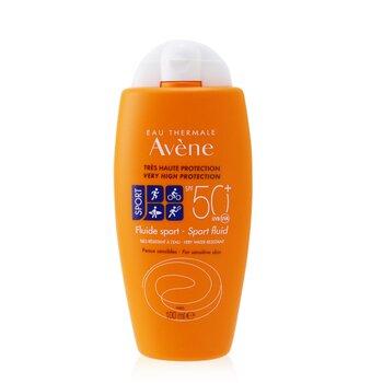 Sport Fluid SPF 50+ (Face & Body) - For Sensitive Skin (100ml/3.4oz)