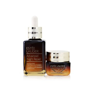 Advanced Night Repair Set: Synchronized Multi-Recovery Complex 50ml+ Eye Supercharged Complex 15ml (2pcs)