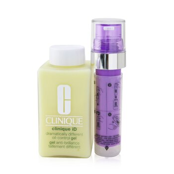 Clinique iD Dramatically Different Oil-Control Gel + Active Cartridge Concentrate For De-Aging (125ml/4.2oz)
