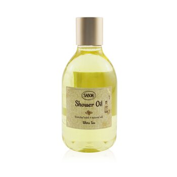 Shower Oil - White Tea (Plastic Bottle) (300ml/10.5oz)