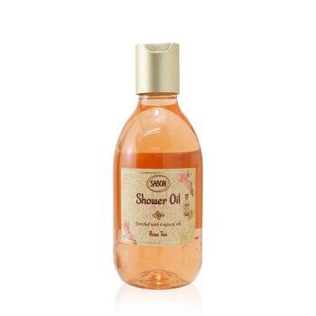 Shower Oil - Rose Tea (Plastic Bottle) (300ml/10.5oz)