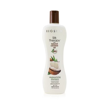 Silk Therapy with Coconut Oil Moisturizing Shampoo (355ml/12oz)
