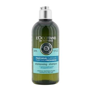 Aromachologie Purifying Freshness Shampoo (Normal to Oily Hair) (300ml/10.1oz)