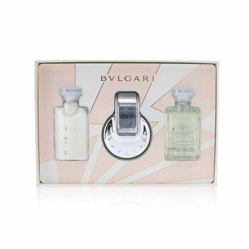 BvlgariOmnia Crystalline Coffret: Eau De Toilette Spray 40ml/1.35oz + Body Lotion 40ml/1.35oz + Shower Gel 40ml/1.35oz 3pcs -  257489