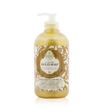 60 Anniversary Luxury Gold Soap With Gold Leaf - 23K Gold Liquid Soap (Limited Edition) (500ml/16.9oz)