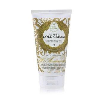 Luxury Gold Cream With Gold Leaf (Limited Edition) - Restorative 24H Face & Body Cream (150ml/5oz)