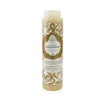 60 Anniversary Luxury Gold Soap With Gold Leaf - 23K Gold Liquid Soap (Limited Edition) (300ml/10.2oz)