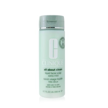 All About Clean Liquid Facial Soap Extra-Mild - Very Dry to Dry Skin (200ml/6.7oz)