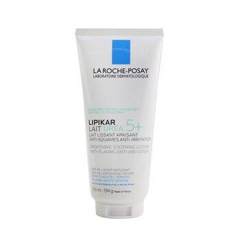 Lipikar Lait Urea 5+ Smoothing Soothing Lotion (Anti-Flaking & Anti-Irritation) (200ml/6.6oz)