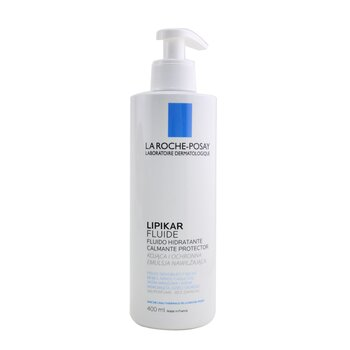 Lipikar Fluide - Soothing Protecting Fluid (Fragrance-Free) (400ml/13.5oz)
