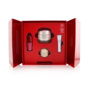 Smooth Skin Sensations Set: Benefiance Day Cream SPF23 50ml + Ultimune Concentrate 10ml + Benefiance Smoothing Cream 15ml + Benefiance Eye Cream 5ml (4pcs)
