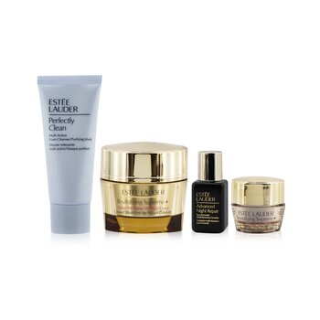 Firm+Glow Collection: Revitalizing Supreme+ Creme+ ANR Multi Recovery+ Revitalizing Supreme+ Eye+ Perfectly Clean (4pcs)