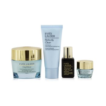 Protect+Hydrate Collection: DayWear Moisture Creme SPF 15 50ml+ ANR Multi Recovery 15ml+ DayWear Eye 5ml+ Perfectly Clean 30ml (4pcs)