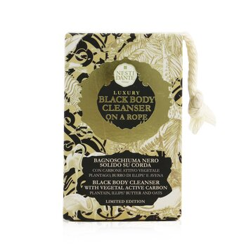 Luxury Body Cleanser On A Rope - Black Body Cleanser With Vegetal Active Carbon (Limited Edition) (150g/5.3oz)
