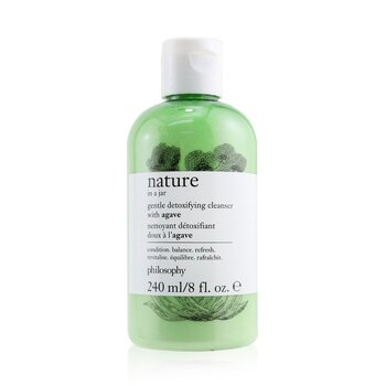 Nature In A Jar Gentle Detoxifying Cleanser With Agave (240ml/8oz)