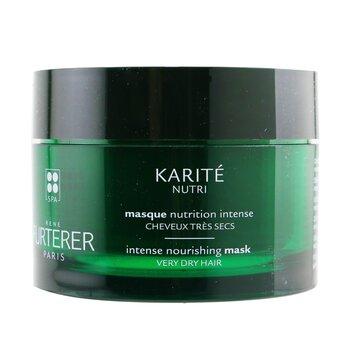 Karite Nutri Nourishing Ritual Intense Nourishing Mask - Very Dry Hair (Box Slightly Damaged) (200ml/7oz)