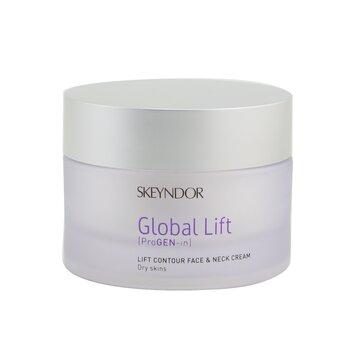 Global Lift Lift Contour Face & Neck Cream (For Dry Skin) (30ml/1oz)