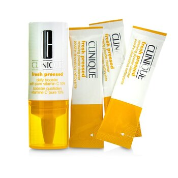 Fresh Pressed 7-Day System with Pure Vitamin C (1x Daily Booster + 7x Renewing Powder Cleanser) - Box Slightly Damaged (125ml/4.2oz)