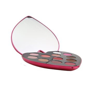 Monsieur Big Heart Shaped Eyeshadow Palette (12x Eyeshadow) (12x0.8g/0.0275)