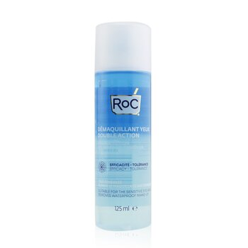 Double Action Eye Make-Up Remover - Removes Waterproof Make-Up (Suitable For The Sensitive Eye Area) (125ml/4.23oz)