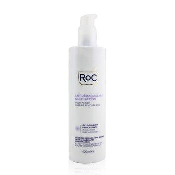 Multi-Action Make-Up Remover Milk - Removes Waterproof Make-Up (All Skin Types, Even Sensitive Skin) (400ml/13.52oz)