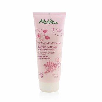 Rose Petals & Acacia Honey Shower Cream (200ml/6.7oz)