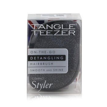Compact Styler On-The-Go Detangling Hair Brush - # Onyx Sparkle (1pc)