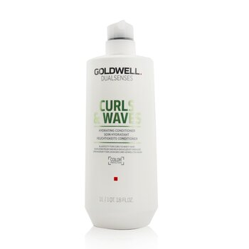 Dual Senses Curls & Waves Hydrating Conditioner (Elasticity For Curly & Wavy Hair) (1000ml/33.8oz)