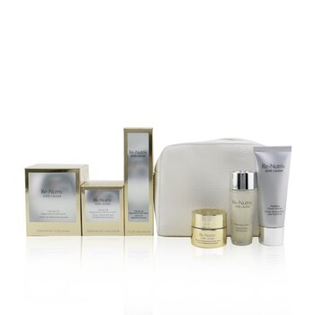 Re-Nutriv Ultimate Lift Regenerating Youth Precious Collection: Creme 50ml+Serum 30ml+Eye Creme 15ml+Lotion 30ml+Cleanser.... (6pcs+1bag)