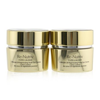 Re-Nutriv Ultimate Lift Regenerating Youth Eye Creme Duo (2x15ml/0.5oz)