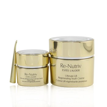 Re-Nutriv Ultimate Lift Regenerating Youth Face & Eye Set: Face Creme 50ml/1.7oz+ Eye Creme 15ml/0.5oz (2pcs)